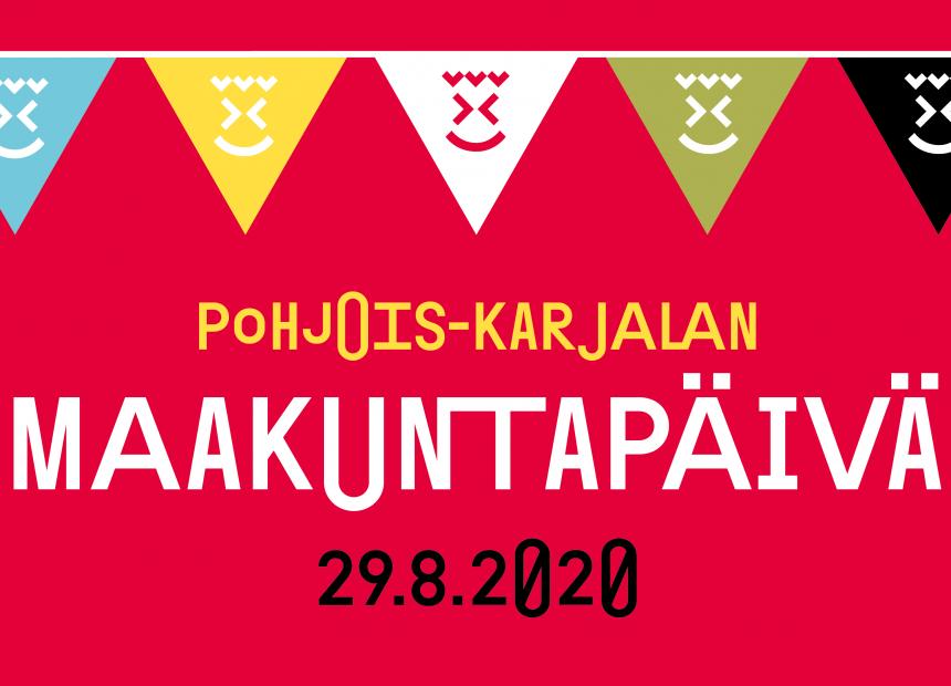 Pohjois-Karjalan maakuntapäivän banneri