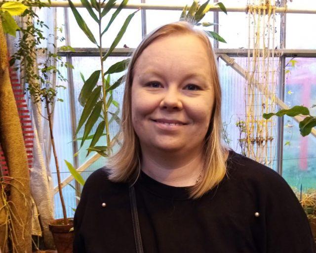 Katja Saharinen.
